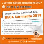 Becas Remanentes 2019
