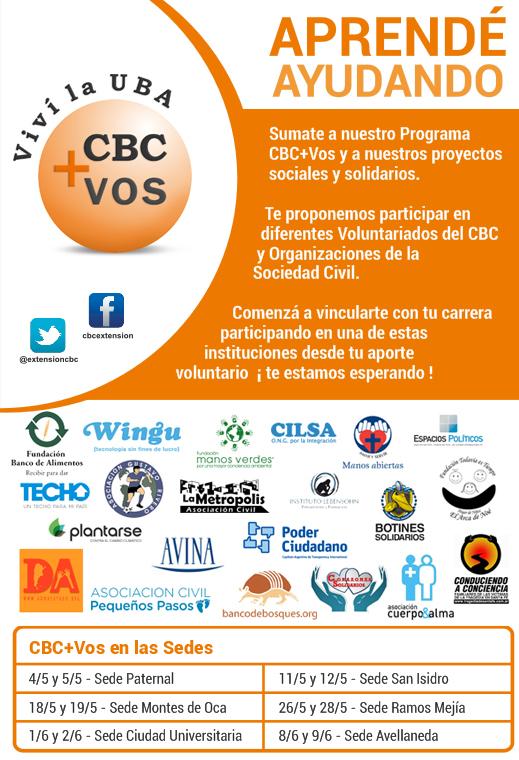 CBC+Vos 1er cuatrimestre 2015