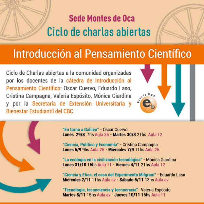 Ciclo de charlas abiertas IPC