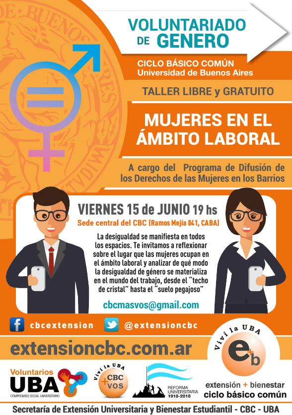 Taller Mujeres en al ámbito laboral