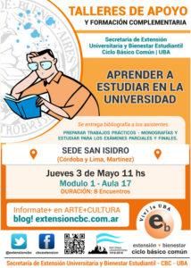 Técnicas de Estudio Sede San Isidro 2018