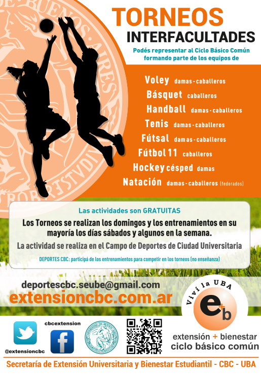 Torneo Interfacultades 2016