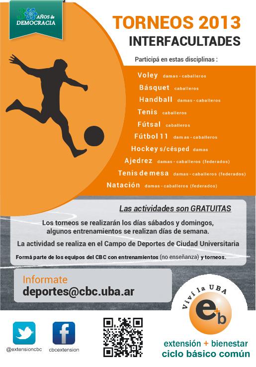 Torneo Interfacultades 2013