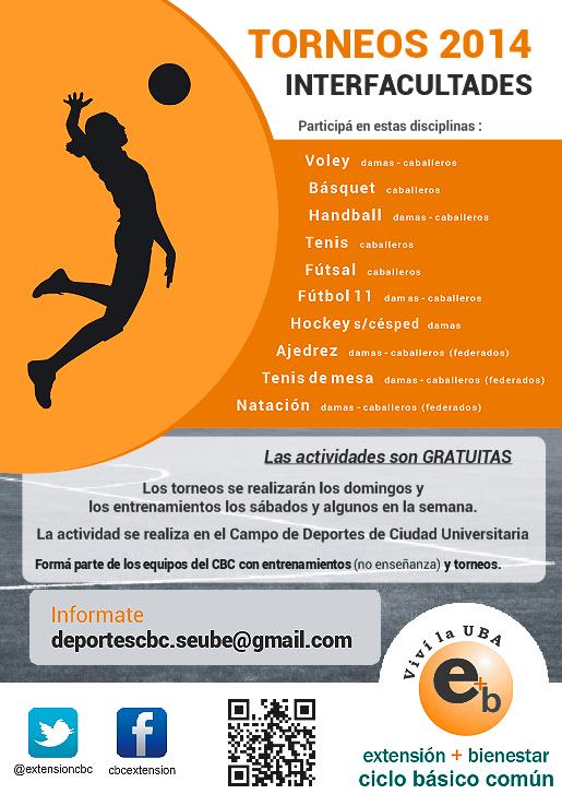 Torneo Interfacultades 2014