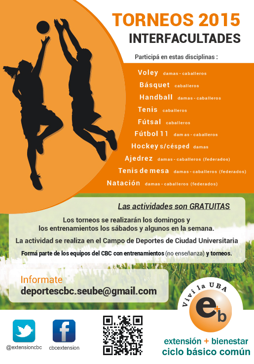 Torneo Interfacultades 2015