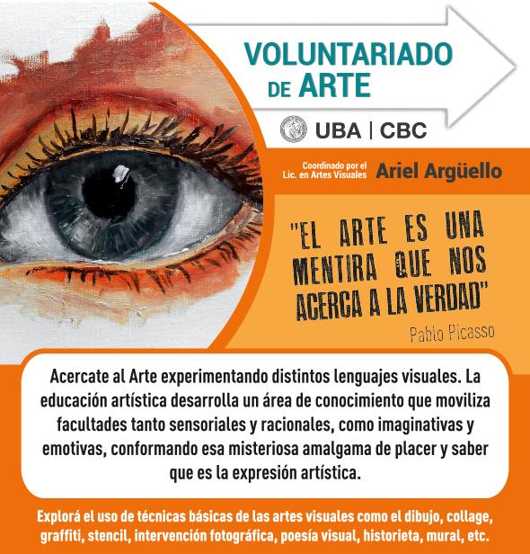 Voluntariado Artes visuales