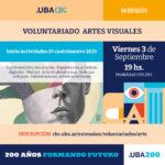 Voluntariado de Artes Visuales 2021