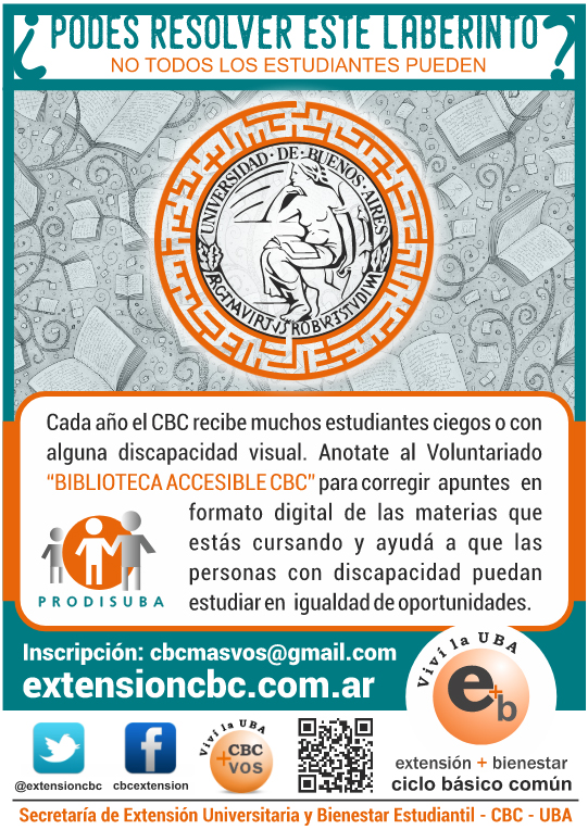 Voluntariado Biblioteca Accesible