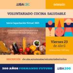 Voluntariado Cocina Saludable 2021