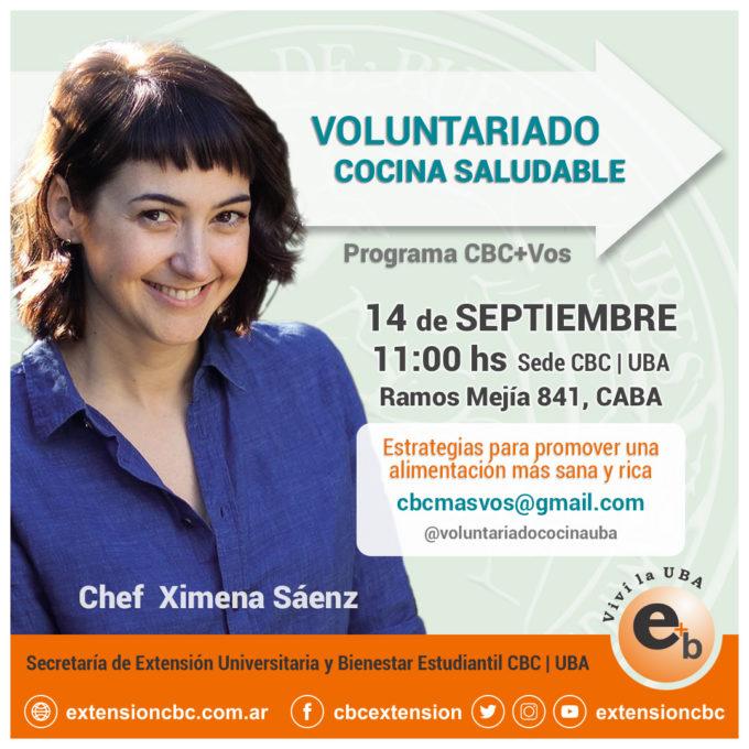 Voluntariado Cocina Saludable 2019