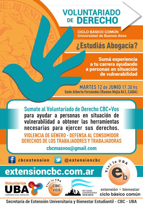 Voluntariado de Derecho 2018