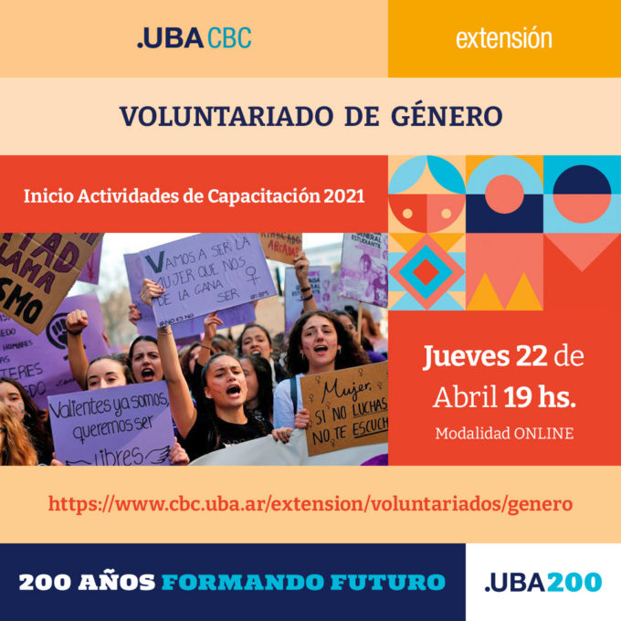 Voluntariado de Género 2021