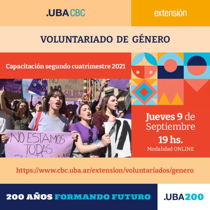 Voluntariado de Género 2021