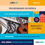 Voluntariado Musica 2021