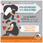 Voluntariado No Bullying