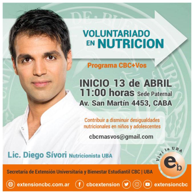 Voluntariado Nutricion 2019