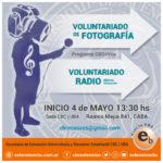 Voluntariado de Fotografía y Radio Abierta Itinerante
