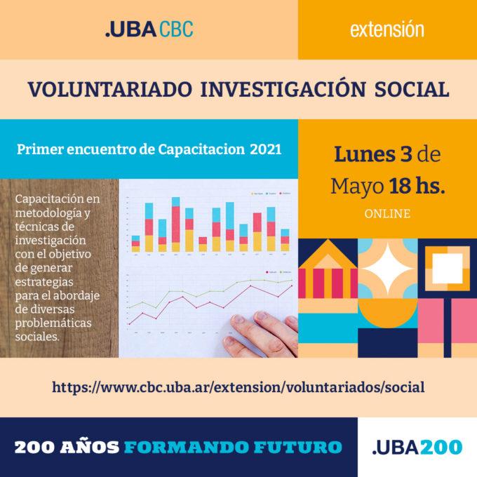Voluntariado Investigación Social 2021