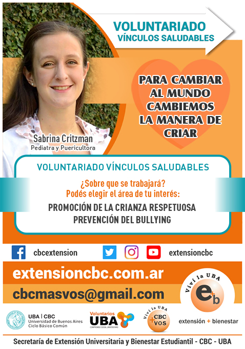 Voluntariado Vínculos Saludables