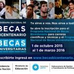 Beca Bicentenario 2016