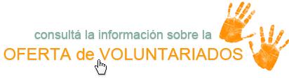 Consultá la información sobre la oferta de voluntariados