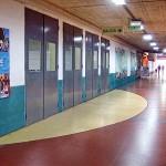 Hall de entrada Aula Central - Subsuelo Pabellón 3