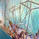 Detalle Mural - Subsuelo Pabellón 3