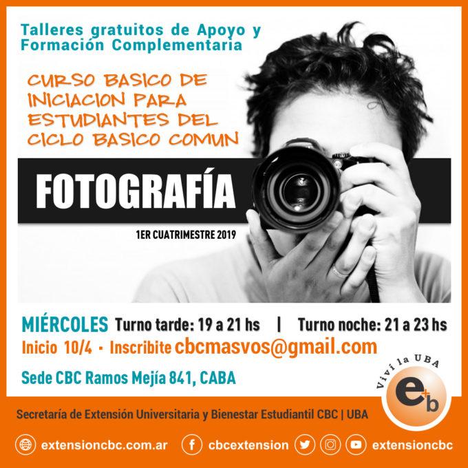 curso básico fotografía