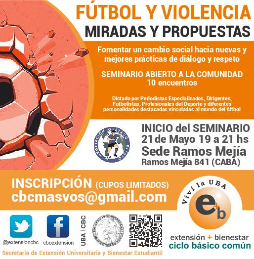 seminario fútbol y violencia