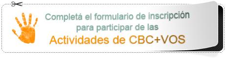 inscripcion a las actividades CBC+Vos