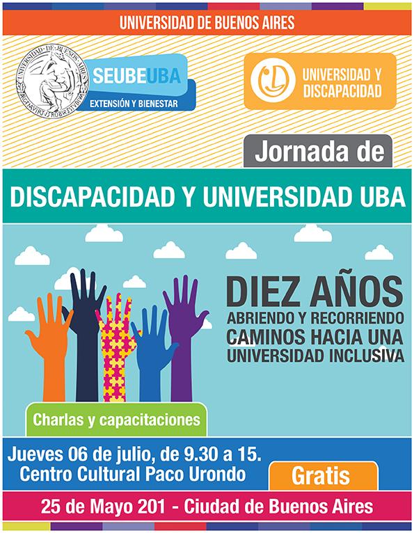 jornada discapacidad y universidad 2017