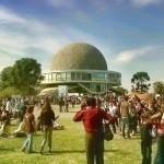 Festejo del día de la tierra en el Planetario de la Ciudad de Buenos Aires