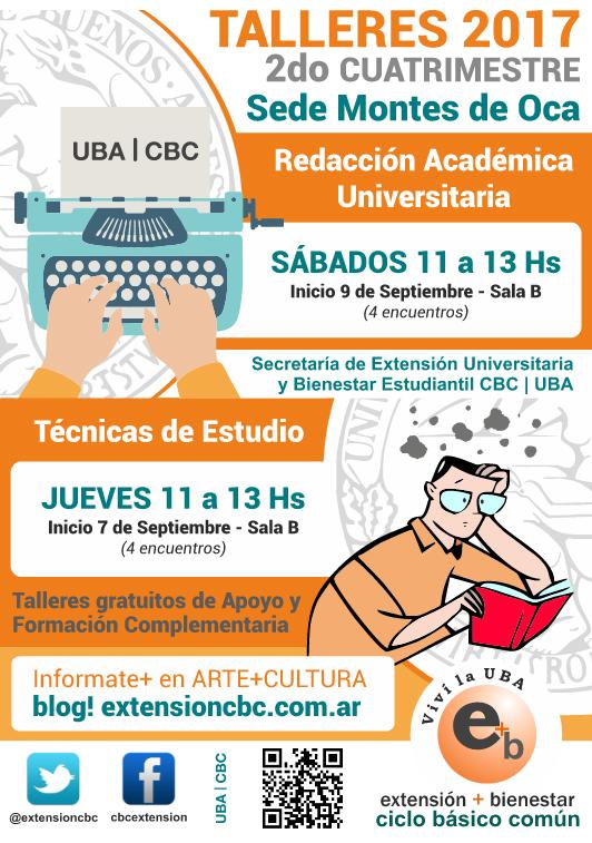 Redacción Académica y Técnicas de Estudio Montes de Oca