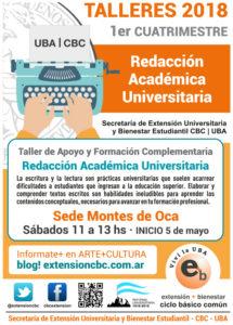 Redacción Académica Universitaria 2018