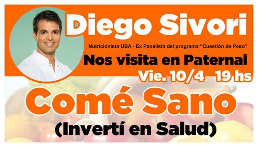 Diego Sívori charla SedePaternal