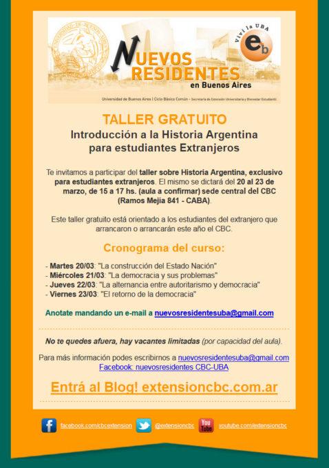 Taller Introducción a la Historia Argentina