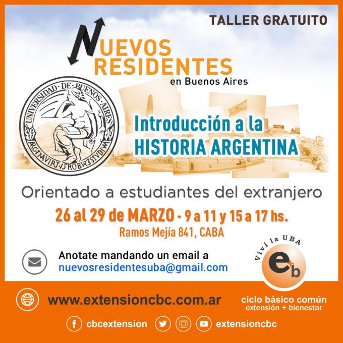 taller de Historia Argentina 2019