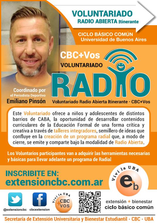 Voluntariado Radio Abieta Itinerante
