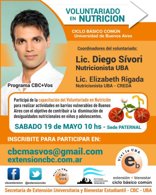 Voluntariado Nutrición 2018