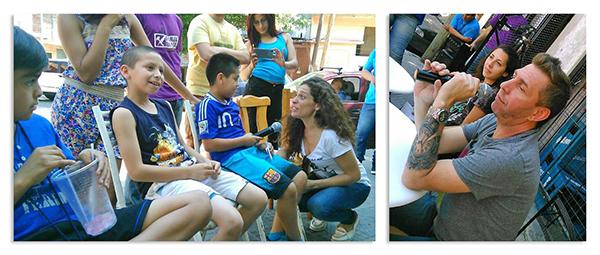 fotos Voluntariado Radio (Emiliano Pinson)